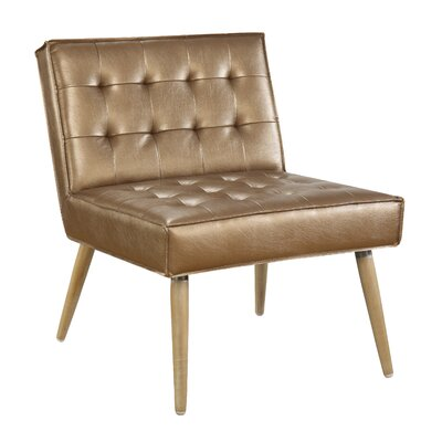 Nastya Side Chair Upholstery: Sizzle Copper