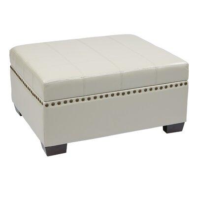 Matthew Storage Ottoman Upholstery: Cream
