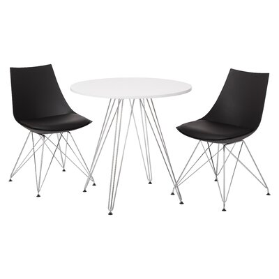 Eiffel 3 Piece Dining Set