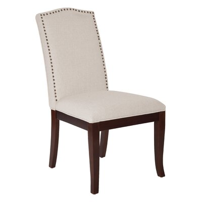 Hanson Side Chair Upholstery: White