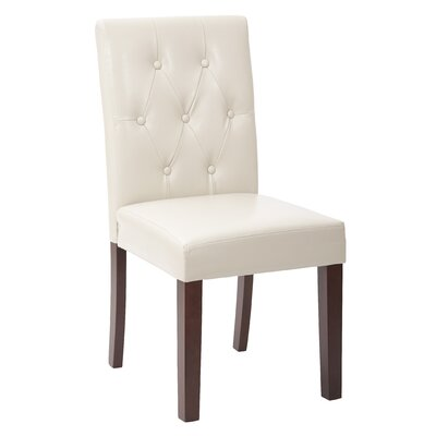 Parson Chair Color: Cream