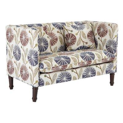 Providence Dandelion Sette Loveseat Upholstery: Dandelion Plum