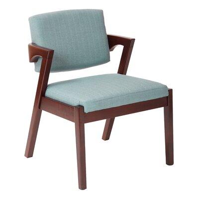 Reign Arm Chair Upholstery: Klein Sea