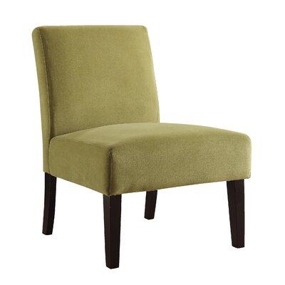Baronets Slipper Chair Upholstery: Basil Velvet