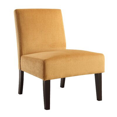 Baronets Slipper Chair Upholstery: Butternut Velvet