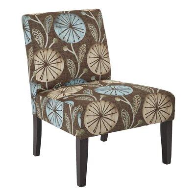 Barhill Patterned Slipper Chair Upholstery: Dandelion Aqua Fabric