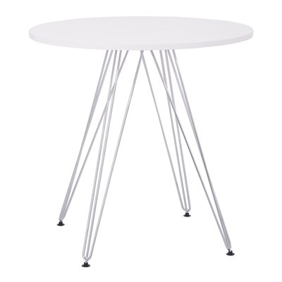 Eiffel Dining Table Top Finish: White