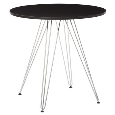Eiffel Dining Table Top Finish: Black