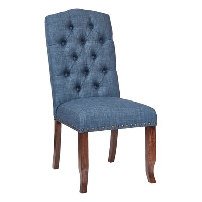 Jessica Side Chair Upholstery: Navy