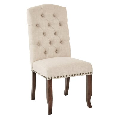 Jessica Side Chair Upholstery: Linen