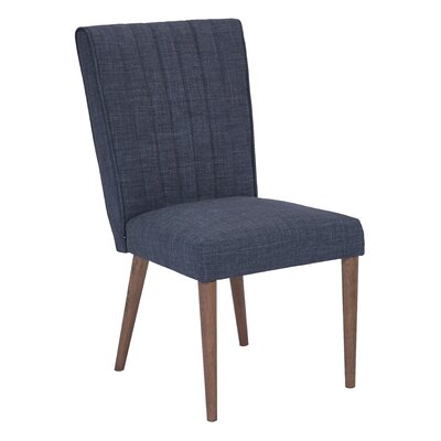 Caroline Parsons Chair Upholstery: Navy