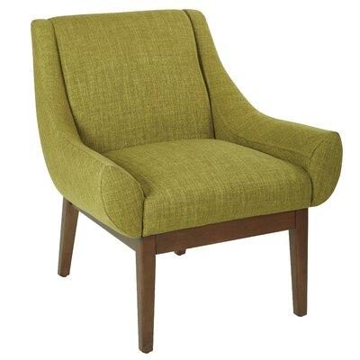 Sprague Armchair Upholstery: Green