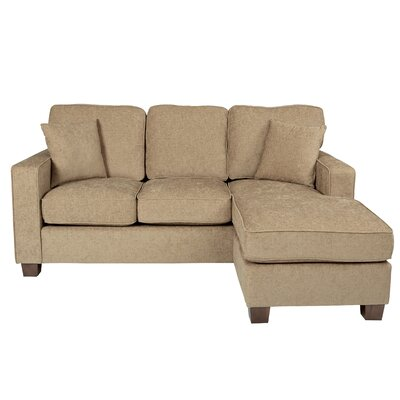 Russell Reversible Sectional Upholstery: Cush Earth