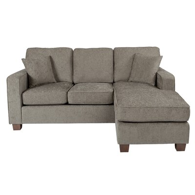 Russell Sectional Upholstery: Cush Taupe