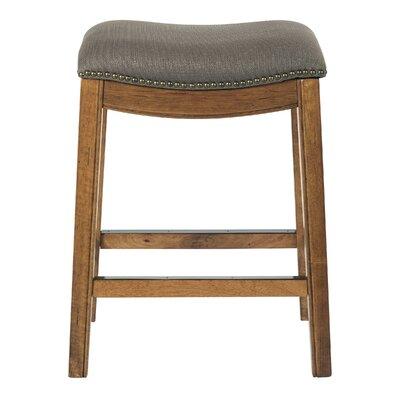 Martinez 26.25 Bar Stool Upholstery: Klein Otter