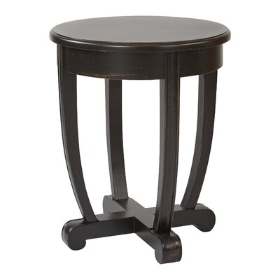 Colhaven End Table Finish: Brushed Black