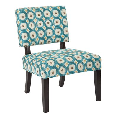 Merkle Slipper Chair Upholstery: Teal