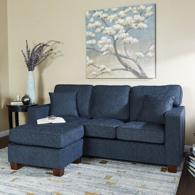 Russell Sectional Upholstery: Cush Navy