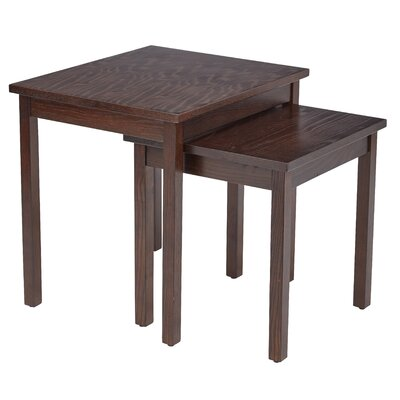 Main Street 2 Piece Nesting Table Set