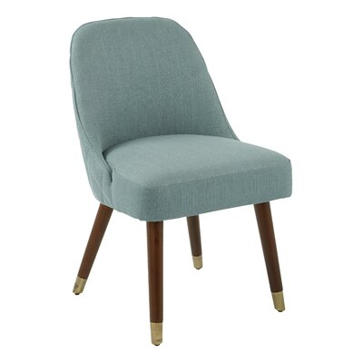 Ison Upholstered Dining Chair Upholstery Color: Klein Sea