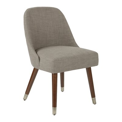 Ison Upholstered Dining Chair Upholstery Color: Milford Dove