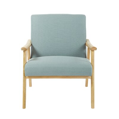 Weldon Accent Armchair Upholstery: Klein Sea