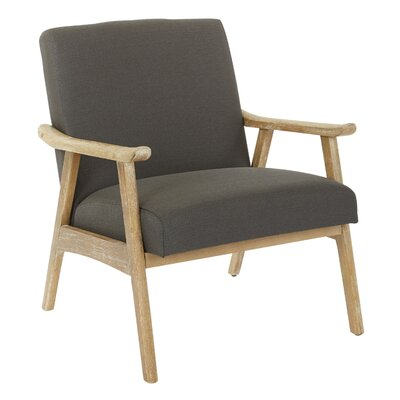 Delasandro Accent Armchair Upholstery: Klein Charcoal