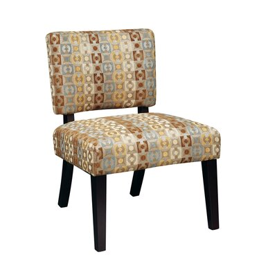 Merkle Fabric Slipper Chair