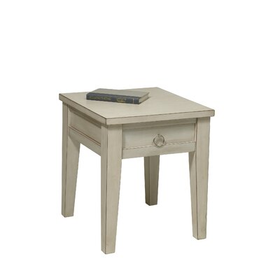 No credit financing Banyan End Table Finish: Rustic Cre...