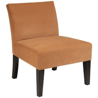 Laguna Upholstered Dining Chair Color: Brushed Butternut