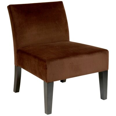 Laguna Upholstered Dining Chair Color: Brushed Chocolate