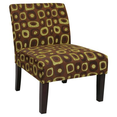 Laguna Upholstered Dining Chair Color: Twilight Basil