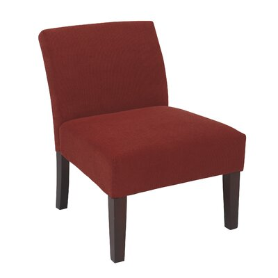 Laguna Upholstered Dining Chair Color: Finesse Cranapple