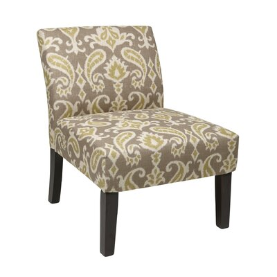 Laguna Upholstered Dining Chair Color: Ikat Grey