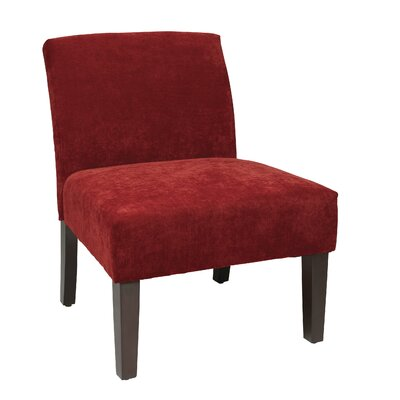 Laguna Upholstered Dining Chair Color: Vintage Grenadine