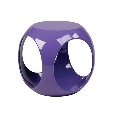 In store financing Slick End Table Finish: Purple...