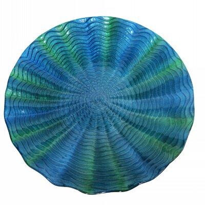 Birdbath Color: Blue / Green KPP314T-18