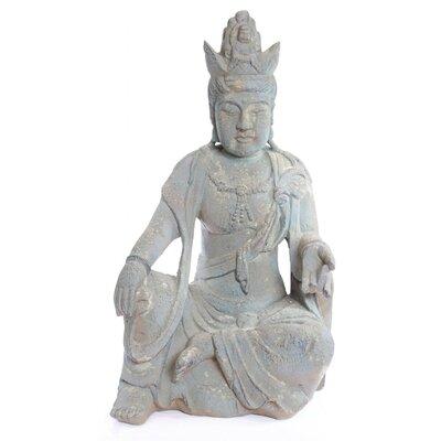 Ancient Buddha Garden Statue QFC134