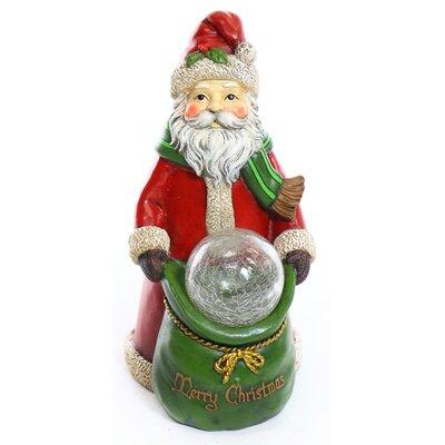 Christmas Santa Statue with LED Lights ZEN444S-TM