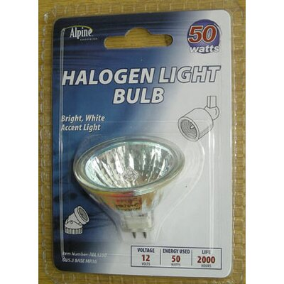 GU4/Bi-pin Halogen Light Bulb (Set of 4) Wattage: 50W