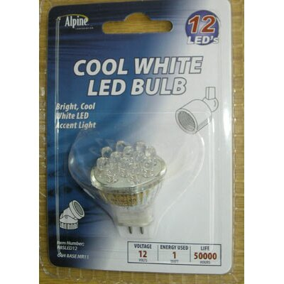 1W 12-Volt LED Light Bulb