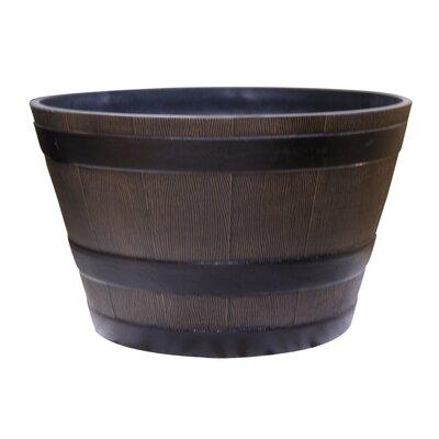 Vinyl Barrel Planter TEC256S-BZ