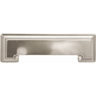 Hickory Hardware P3013-Ss 3 In. And 96mm Studio Collection Stainless Steel Cup Cabinet Pull P3013-SS