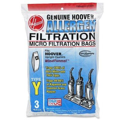 36 Hoover Type Y Cloth Bags Part # 4010100Y 4010801Y 43655082 17474017