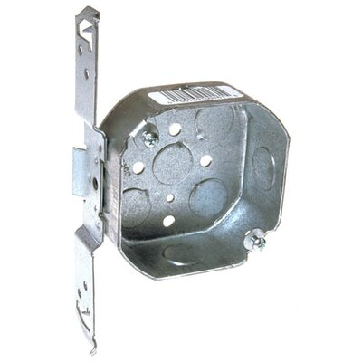 4 Octagon Box with Bracket