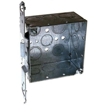 4 Square Box with Bracket