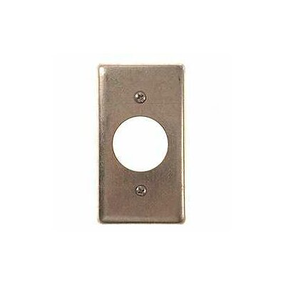Single Gang Handy Box Receptacle Wallplate Cover