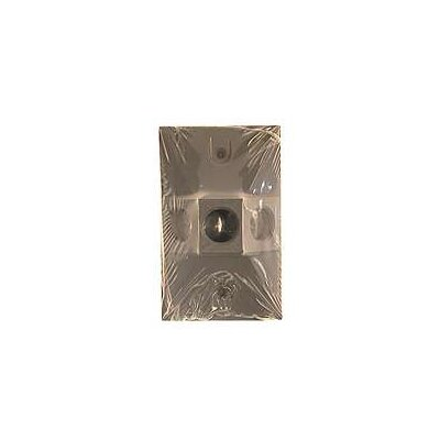 Triple Outlet Weatherproof Rectangular Lampholder Color: Gray