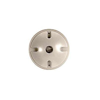 Single Outlet Weatherproof Round Lampholder Color: Gray