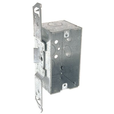 Single Gang Handy Box with Bracket